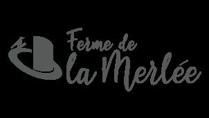 logo pour la-ferme-de-la-merlée