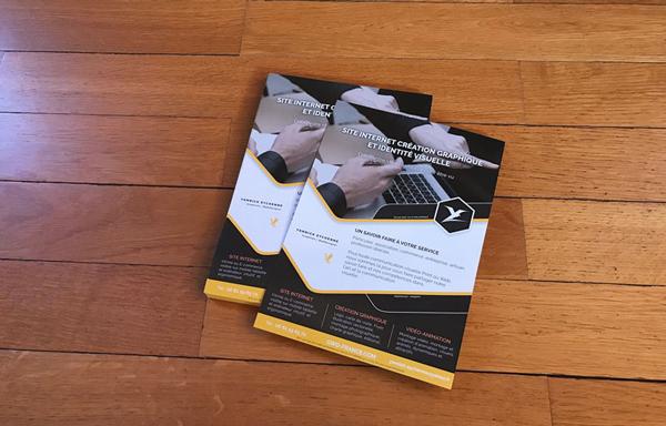 Création graphique flyer Yannick Eychenne Graphiste WebDesigner Graphisme Web-Design